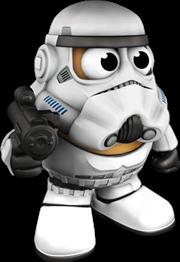 Star Wars - Stormtrooper Mr. Potato Head