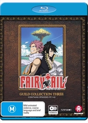 Fairy Tail Guild - Collection 3 - Eps 97-142 | Blu-ray