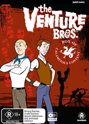 Venture Bros. - Box Of Calamitous Content - Season 1-6 | Boxset, The
