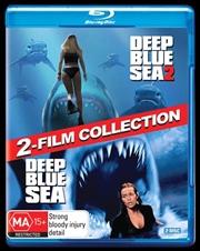 Deep Blue Sea / Deep Blue Sea 2 | Blu-ray