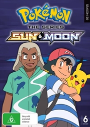 Pokemon The Series - Sun and Moon | Series Collection