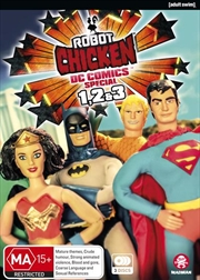 Robot Chicken - DC Comics - Special 1-3 | DVD