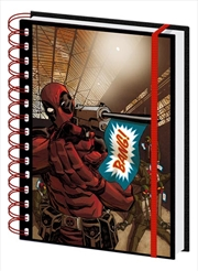 Deadpool Bang A5 Notebook