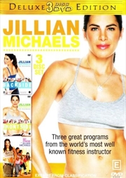 Jillian Michaels - Deluxe 3 Disc Edition | DVD