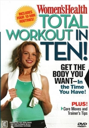 Total Workout In Ten - Women's Health | DVD
