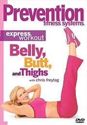Prevention Fitness -  Belly Butt And Thigh | DVD