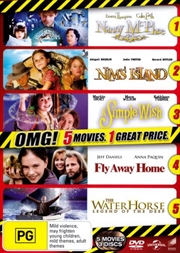 Nanny McPhee/Nim's Island/A Simple Wish/Fly Away Home/Water Horse