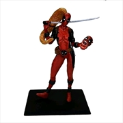 Deadpool - Lady Deadpool Metal Miniatures