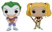 Batman - Joker & Harley Beach US Exclusive Pop! Vinyl