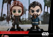 Star Wars: Rogue One - Jyn & Cassian Cosbaby Set | Merchandise