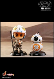 Star Wars - Rey & BB-8 Episode VII The Force Awakens Cosbaby Set | Merchandise