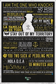 Breaking Bad - Typographic | Merchandise