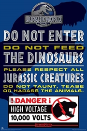Jurassic World - Do Not Enter | Merchandise
