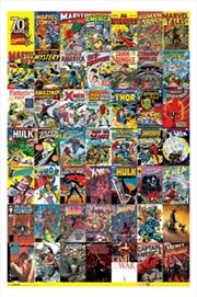 Marvel Comics - 70 Years Comic Covers