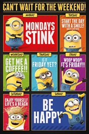 Despicable Me 3 - Days Of The Week