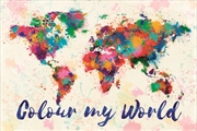 Colour My World - Map | Merchandise
