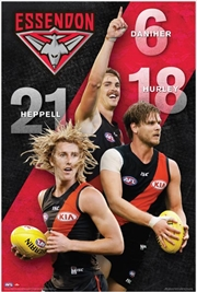 AFL - Essendon Bombers Players | Merchandise