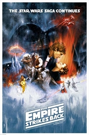 Star Wars Classic - The Empire Strikes Back One Sheet | Merchandise