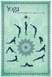 Yoga - Sun Salutation | Merchandise