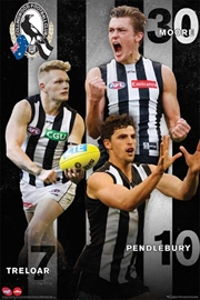 AFL - Collingwood Magpies Players