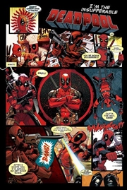 Marvel Comics - Deadpool Panels