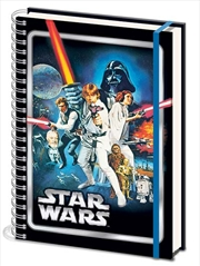 Star Wars Classic - A New Hope A4 Notebook | Merchandise