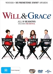 Will and Grace - Season 1-9 | Boxset