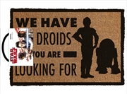 Star Wars Classic - We Have The Droids | Merchandise