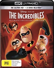 Incredibles | Blu-ray + UHD - Bonus Blu-ray