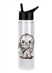 Star Wars - Chewbacca with Porg Water Bottle
