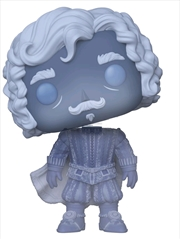 Harry Potter - Nearly Headless Nick Blue Translucent US Exclusive Pop! Vinyl | Pop Vinyl