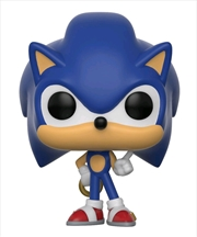 Sonic the Hedgehog - Sonic with Ring Pocket Pop! Keychain