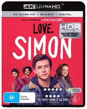 Love, Simon | Blu-ray + UHD + Digital Copy