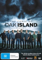 Curse Of Oak Island - Season 1, The | DVD