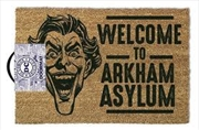 DC Comics - The Joker Welcome To Arkham Asylum | Merchandise