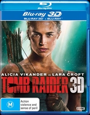 Tomb Raider | 3D + 2D Blu-ray