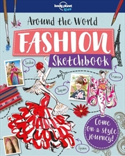 Lonely Planet - Around The World Fashion Sketchbook | Paperback Book