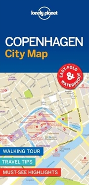 Lonely Planet - Copenhagen City Map