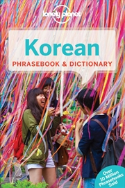 Lonely Planet - Korean Phrasebook And Dictionary | Paperback Book