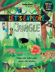 Lonely Planet Kids - Lets Explore Jungle | Paperback Book