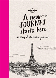 Lonely Planet - Writing And Sketching Journal | Paperback Book
