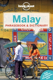 Lonely Planet - Malay Phrasebook And Dictionary | Paperback Book