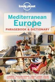 Lonely Planet - Mediterranean Europe Phrasebook
