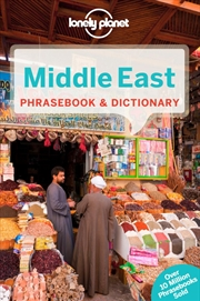 Lonely Planet - Middle East Phrasebook And Dictionary | Paperback Book