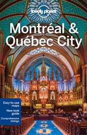Lonely Planet  - Montreal And Quebec City | Paperback Book