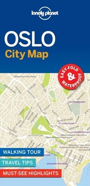 Lonely Planet - Oslo City Map