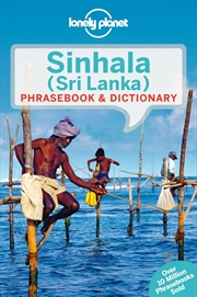 Lonely Planet - Sinhala Sri Lanka Phrasebook And Dictionary | Paperback Book