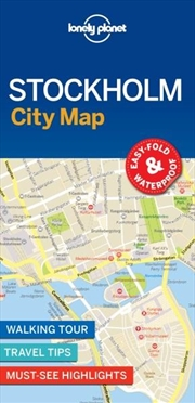 Lonely Planet - Stockholm City Map