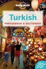 Lonely Planet - Turkish Phrasebook And Dictionary | Paperback Book