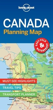 Lonely Planet - Canada Planning Map